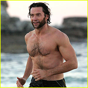Hugh-jackman-saturday-morning-swim